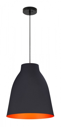 Bronze Ceiling Lamp - Matte Black