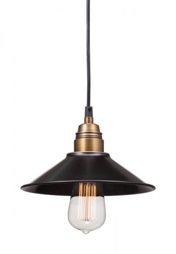 Amarillite Ceiling Lamp - Black/Copper