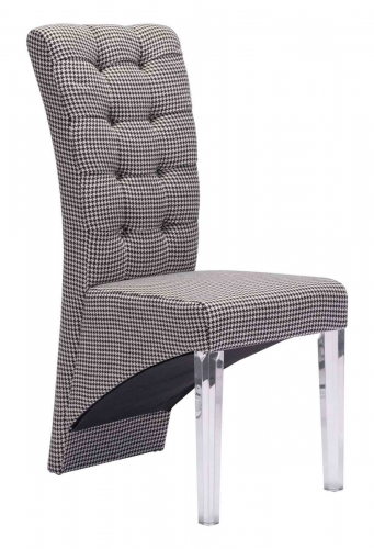 Waldorf Dining Chair - Houndstooth