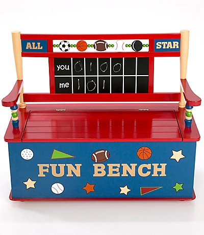 All Star Sports Toy Box Bench--Levels of Disc