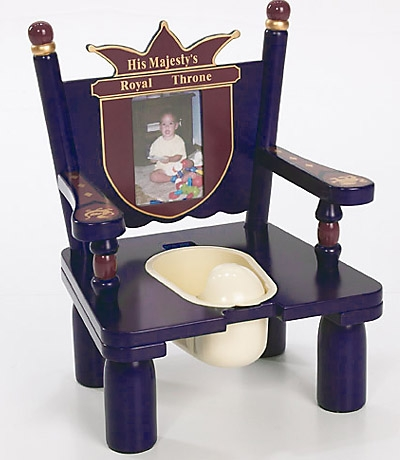 Prince Wooden Potty Training Chair